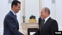 Шеман президент Асад Башар а, Путин Владимир а