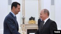 Владимир Путин и Башар Асад. Архивное фото