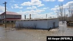 Поплави во Казахстан во април, минатата година