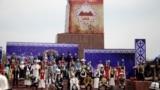 Ош шаарында «Ош - түрк дүйнөсүнүн маданий борбору» эл аралык салтанаты өтүүдө.