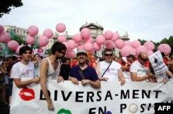 Гей-прайд в Мадриде