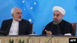 روحانی و ظریف در دیدار با سفیران و نمایندگان وزارت خارجه ایران
