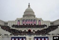 Вместе с Обамой присягу принес и вице-президент Джо Байден