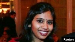 Devyani Khobragade, diplomatja indiane e dëbuar nga SHBA--ja.