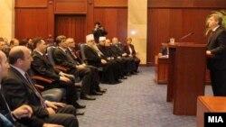 Годишно обраќање на претседателот Ѓорге Иванов пред Собранието