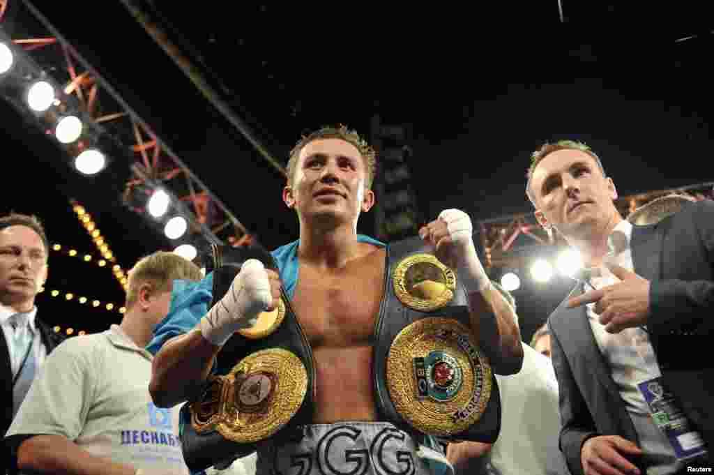 Бұл - Геннадий Головкиннің кәсіпқой бокстағы 28-кездесуі. Бұған дейінгі сайыстардың бәрінде қарсыластарынан басым түскен қазақстандық боксшы осымен 25 сайысын уақытынан бұрын аяқтады.