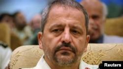 Иран полициясының басшысы Исмаил Ахмади Мукаддам.