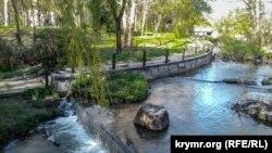 Набережна річки Салгир у Сімферополі