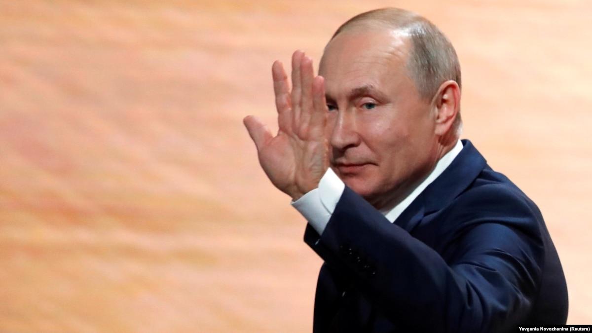 Путин открыл движение поездов на Керченском мосту