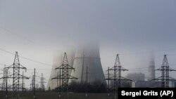 Termoelektrana u blizini bjeloruskog glavnog grada Minska, 6. decembar 2018.