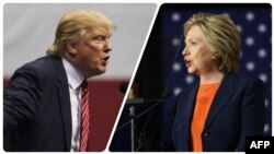 Donald Trump i Hilary Clinton