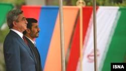 Հայաստանի եւ Իրանի նախագահների հանդիպումը Թեհրանում, 27-ը մարտի, 2011թ.