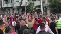 Собир за поддршка на владата во центарот на Скопје