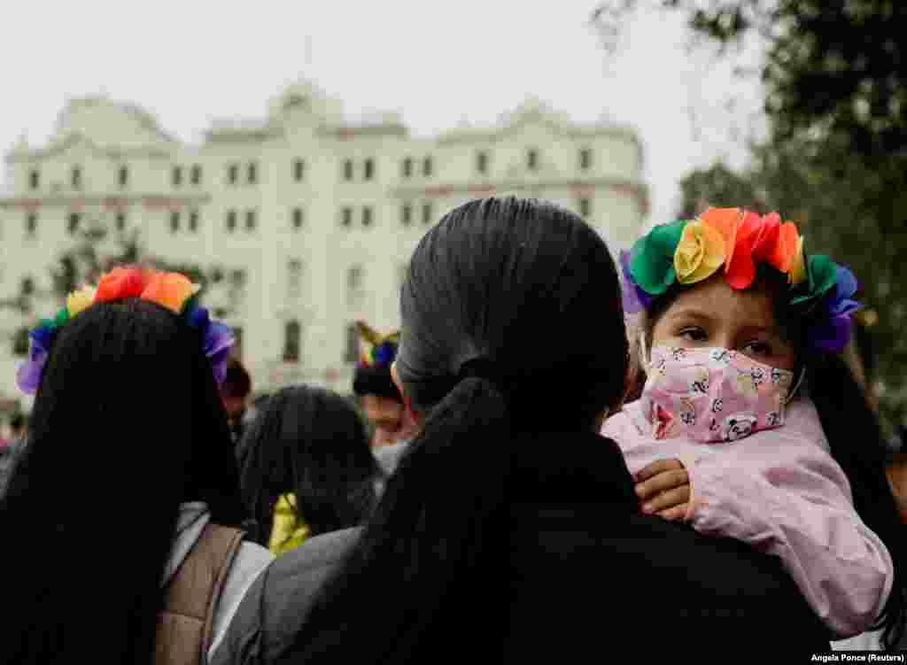 Limában is tartottak felvonulást.
