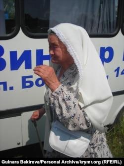 Невтомна Зампіра Асанова не пропускала жодну значущу подію в житті свого народу