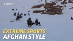 Not A Sled, Not A Snowboard: It's An Afghan Surcha