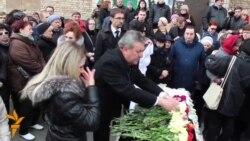 20 04 2015 Погреб на украински новинар, протести во Бишкек