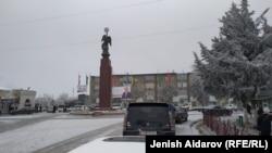 Баткен шаары. Иллюстрациялык сүрөт.
