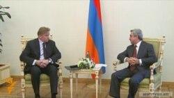Սերժ Սարգսյանն ընդունել է ԵԱՀԿ գործող նախագահին