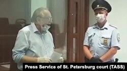 Олег Соколов на заседании суда