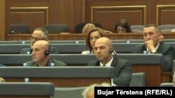 Stojanović: Mi smo se vratili u Parlament, vratićemo se i u Vladu, isključivo kao pokušaj da ponovo stvorimo neku pozitivnu atmosferu; foto: Poslanici Srpske liste u Skupštini Kosova