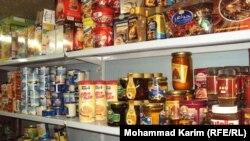 معلبات في سوق عراقية ببغداد