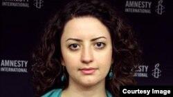 Amnesty International official, Raha Bahreini. File photo