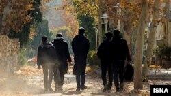 محوطه دانشگاه فردوسی مشهد