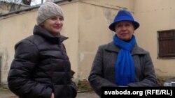 Алена Шабуня і Тацяна Севярынец