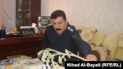مدير شرطة مكافحة المخدرات العقيد نوزاد صلاح الدين