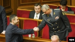 Vitalij Kličko čestita Kovalu na izboru na mesto ministra odbrane Ukrajine
