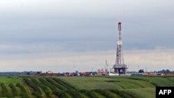 O instalație de foraj a companiei Chevron