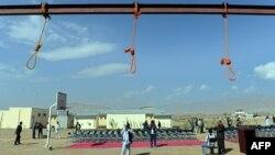 В'язниця Пул-е-Чархі – до страти все готове, 8 жовтня 2014 року