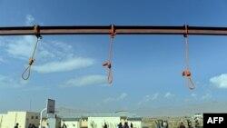 Vendi ku pesë afganët janë ekzekutuar me varje në Kabul, sot, më 8 tetor.
