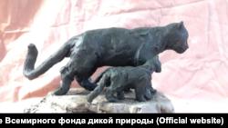 Один из первых эскизов памятника