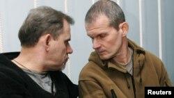 Владимир Садовничий (справа) и Алексей Руденко