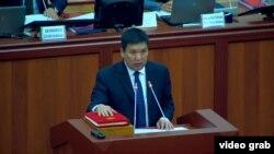 Министр транспорта и дорог Жанат Бейшенов. 31 января 2019 года.