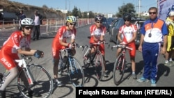 عراقيات يشاركن في البطولة العربية الحادية عشرة للدراجات