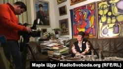 Емма Андієвська під час інтерв'ю Радіо Свобода, лютий 2018