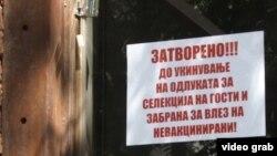 Претседателот на Независната угостителска комора, Здравко Јосифовски, во јавноста посочи дека се до укинувањето на овие мерки на Владата, неговото кафуле ќе биде затворено.