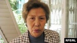 Правозащитник Баретта Ергалиева.