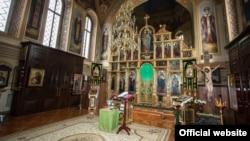 Внутреннее убранство храма Феодосия Печерского