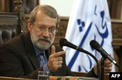 Ali Larijani (file photo)