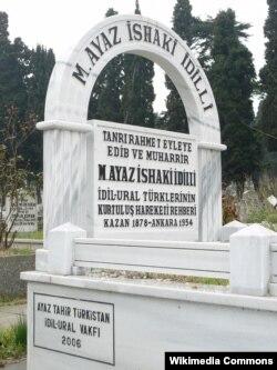 Гаяз Исхакый кабере. Әдирнәкапы, Төркия