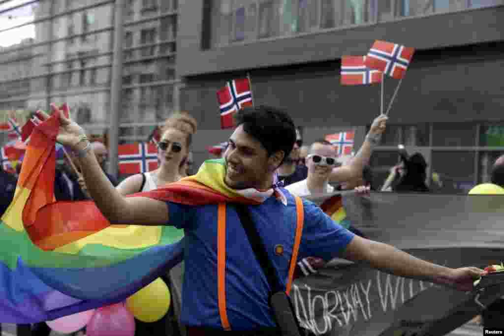 Латвия стала первой из республик бывшего СССР, принявшей акцию EuroPride.