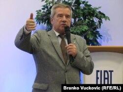 Zdislav Arlet, direktor Fiat Auto Company u Poljskoj, 24. oktobar 2011.