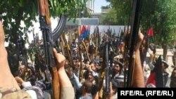 معترضان مسلح در فاریاب