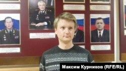 """""""Медиазона"""" басылмасынын кабарчысы Егор Сковорода"""