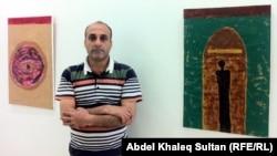 "الفنان السوري في معرضه ""عيون تركناها خلفنا"""