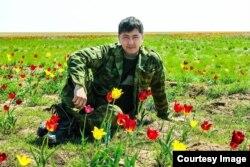 Дмитрий Дей в Тургайской степи